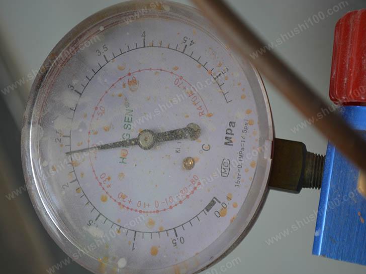 中央空调施工图 打压测试