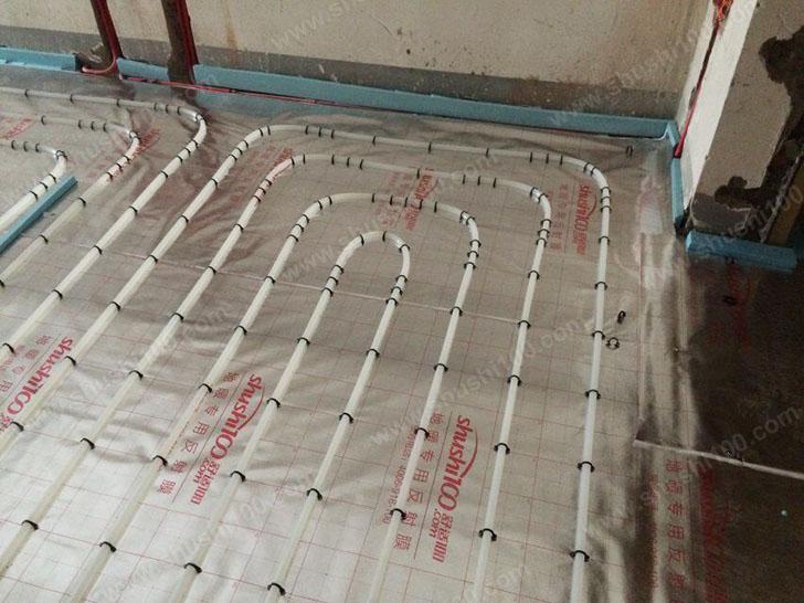 地暖施工图 地暖管