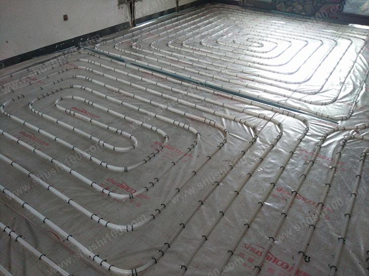 地暖安装 地暖管铺设图