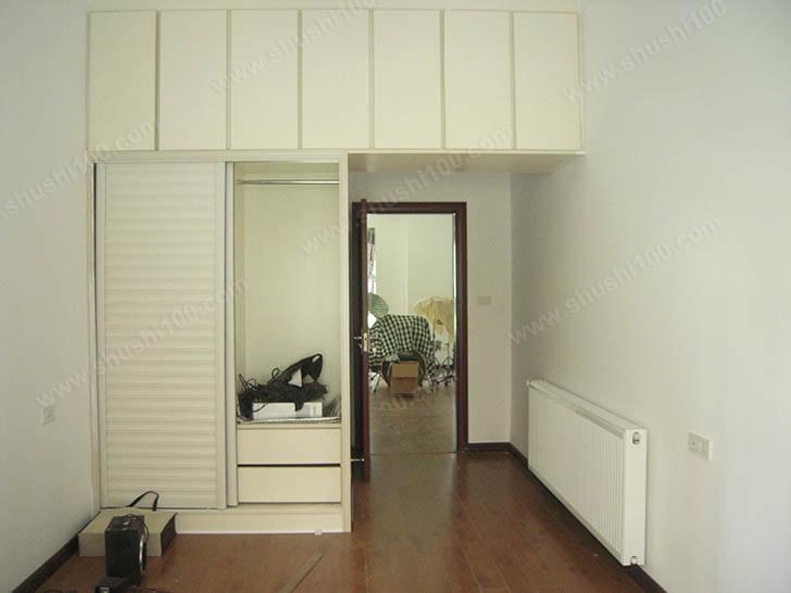 卧室暖气片安装完成图片