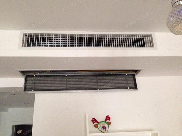 中央空调效果图 与室内装潢相得益彰