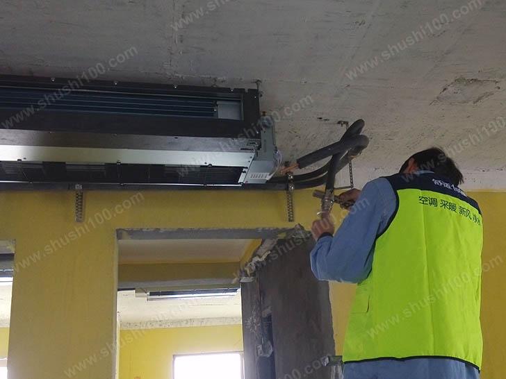 中央空调施工图 固定主机位置