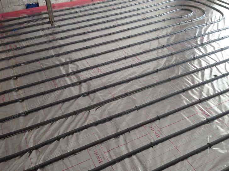 洛阳紫金风景线中央空调、地暖、净水安装工程实例