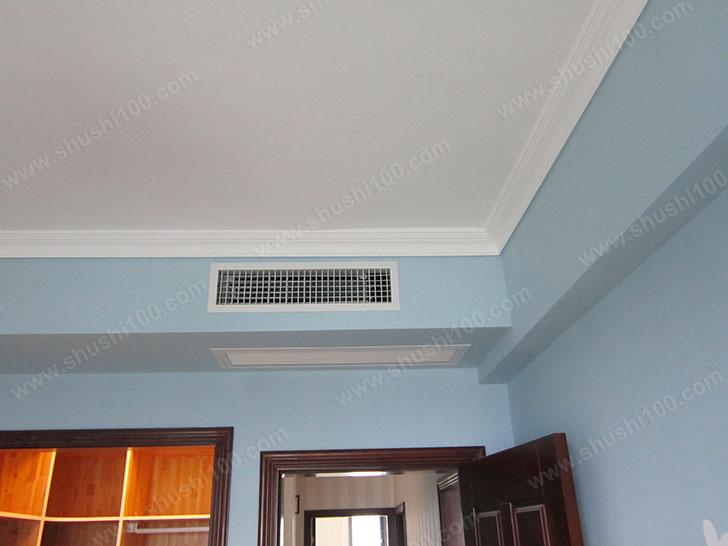中央空调安装效果图 安装节约空间