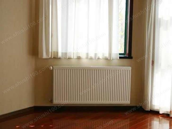 家庭采暖施工完成图 暖气片