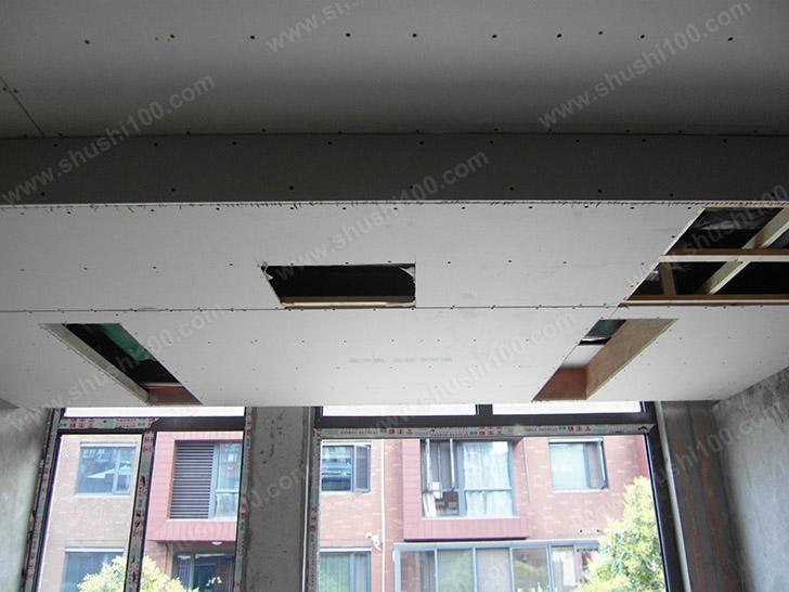 中央空调施工图 隐藏在吊顶中