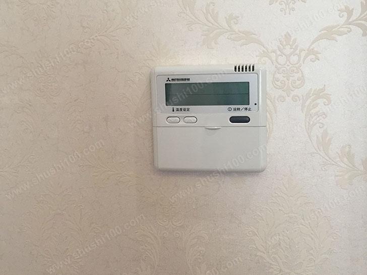 中央空调施工图 温控器安装