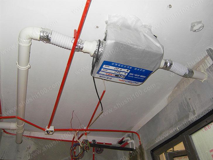 新风系统安装 新风主机各接口连接严密,运行故障低