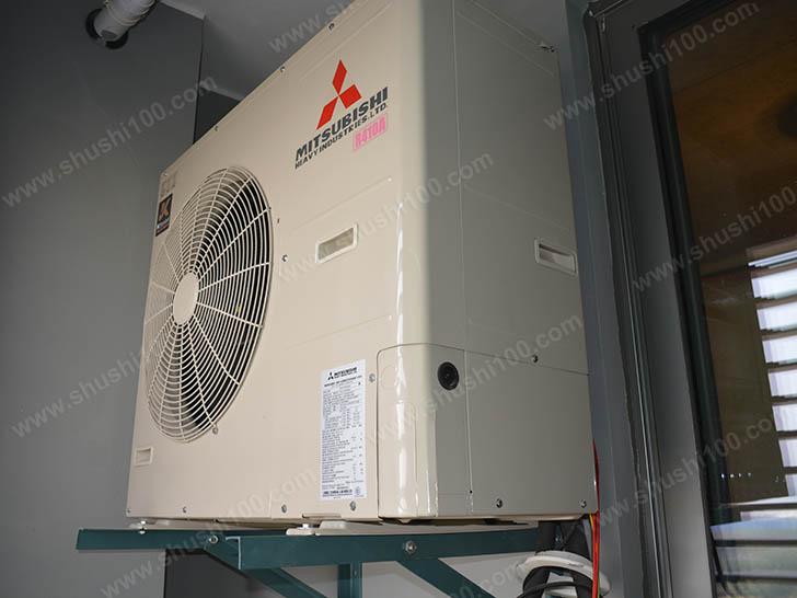 中央空调施工图 室外主机安装