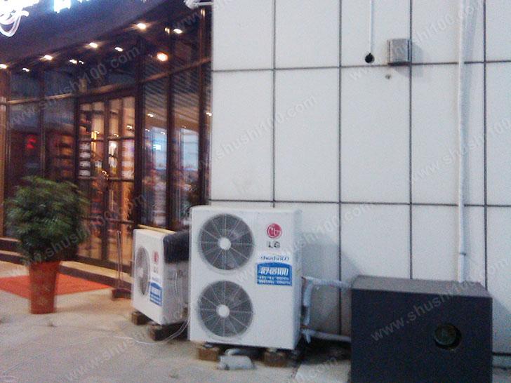 中央空调室外机安装到位