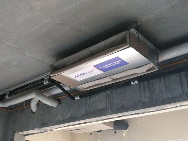 中央空调施工图 主机安装节省空间