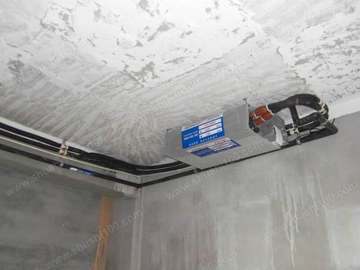 中央空调安装 室内主机安装