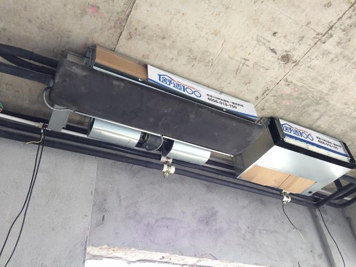 直击惠州中信凯旋城中央空调、新风安装工程现场