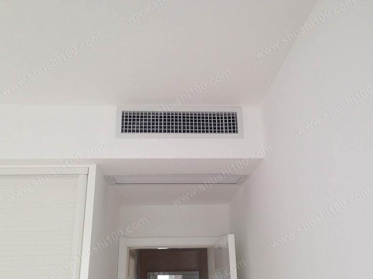 中央空调效果图 舒适出风带来清凉
