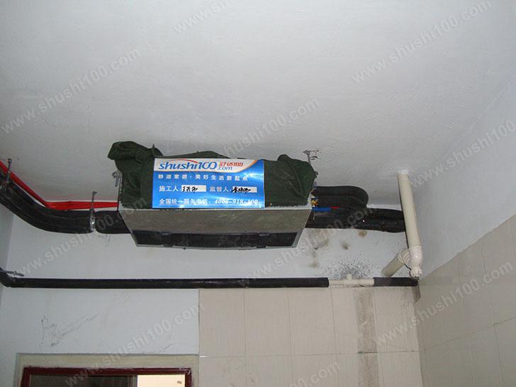 中央空调施工图 固定主机