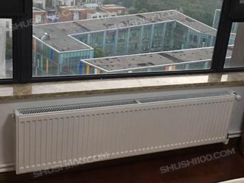 上海外岗新苑暖气片安装效果图