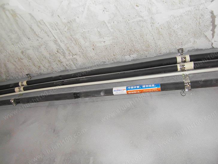 中央空调安装 冷凝水管安装保持坡度