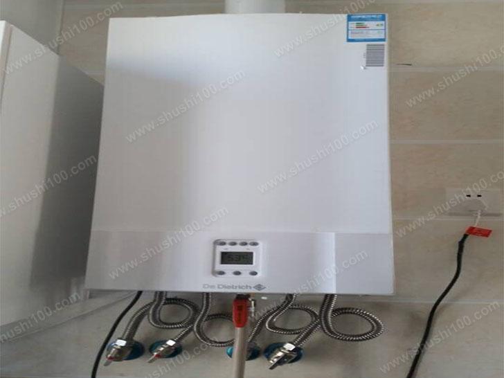 家庭采暖施工图 燃气壁挂炉安装效果展示
