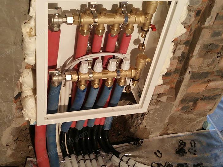 分集水器安装