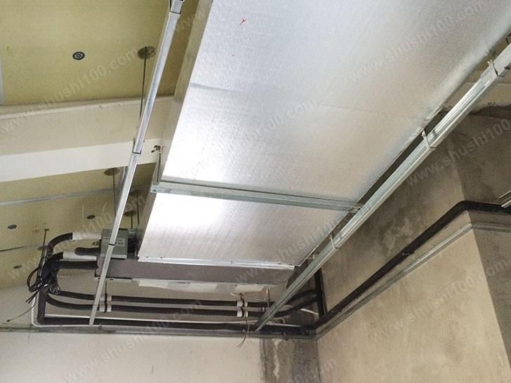 中央空调施工图 风管安装