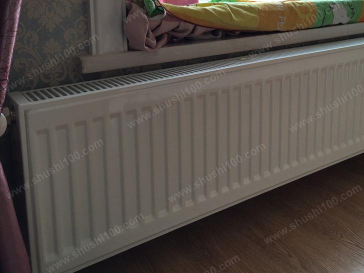 家庭采暖安装 暖气片安装效果图