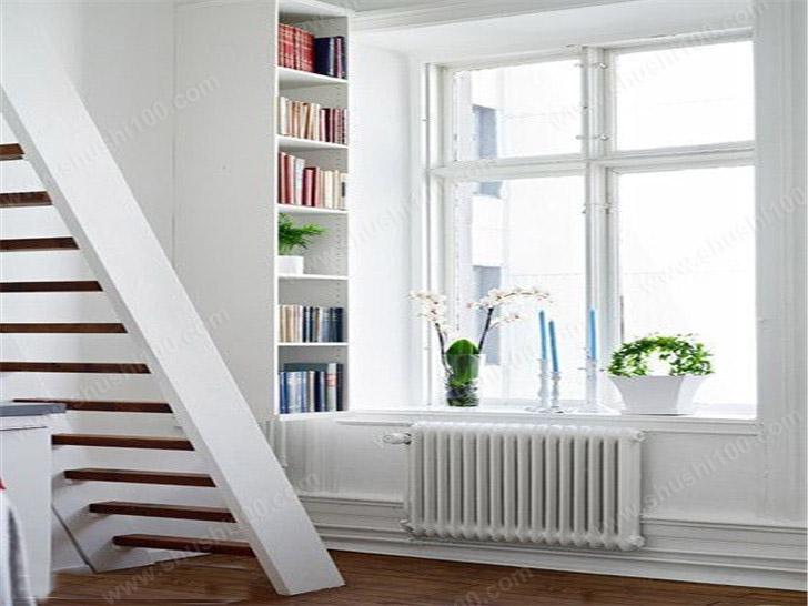 明装暖气片效果图 白色暖气片与室内装修完美融合