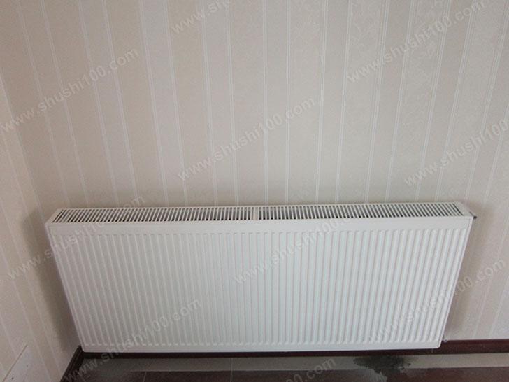暖气片安装效果图 白色美观大气