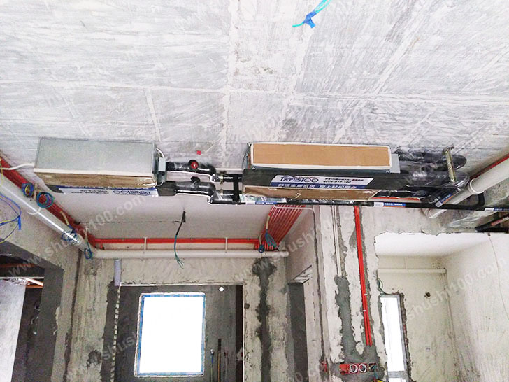 中央空调安装 风机盘管管道安装