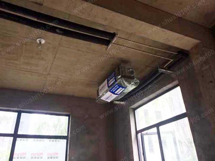 中央空调施工图 主机防尘