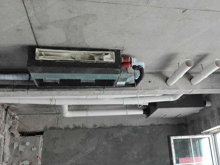 中央空调施工图 中央空调室内机隐藏式安装