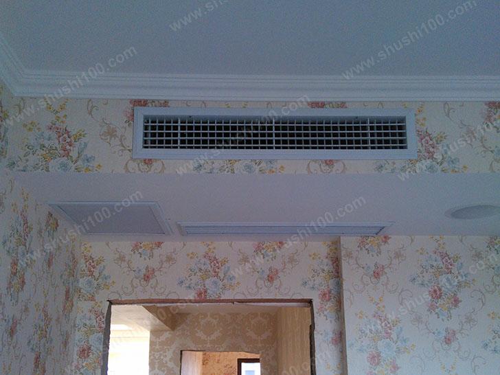 中央空调安装效果图—风口