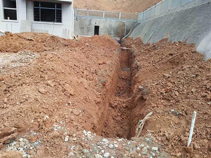 地源热泵施工图 打井