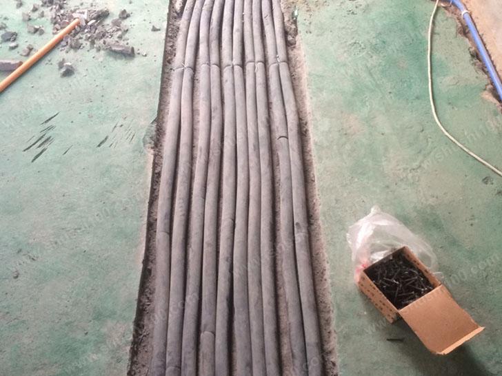 暖气片安装 管材固定严实规范