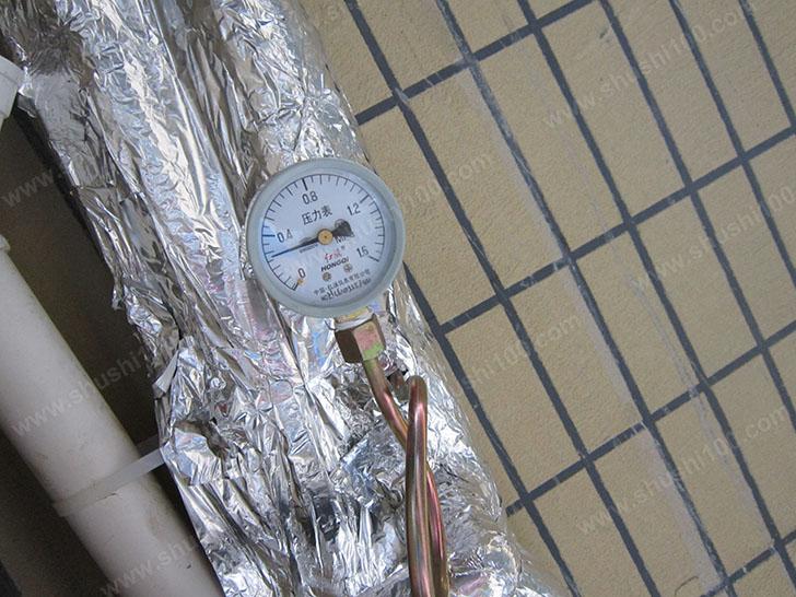 地暖施工图 打压