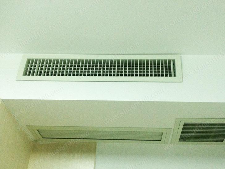 淮安柠檬华苑中央空调安装直击—都市白领的舒适小家