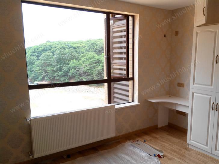 卧室暖气片安装效果图,与室外景色,室内装修浑然一体