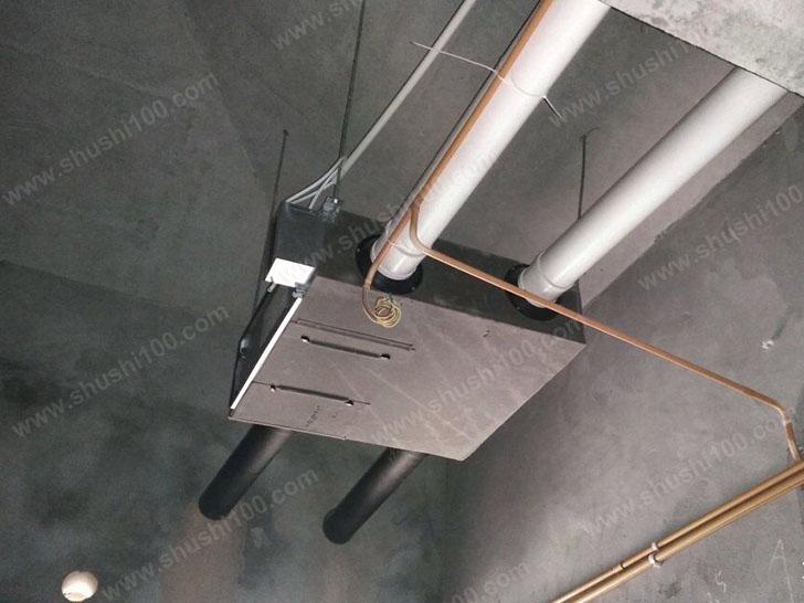 新风施工图 主机安装