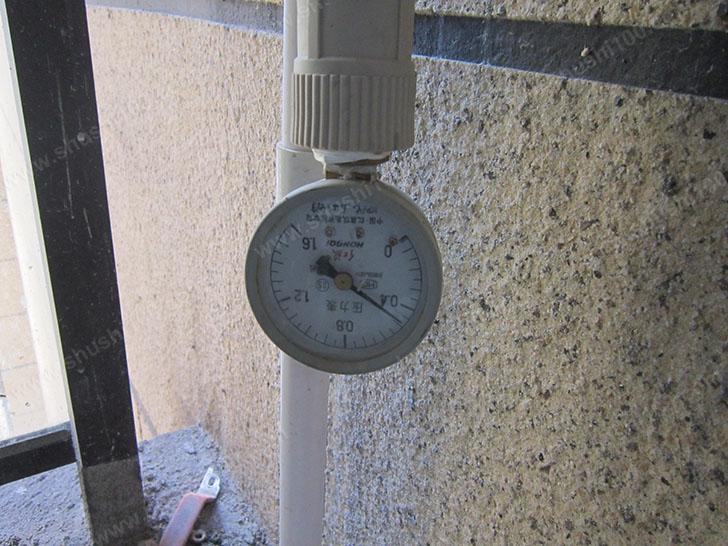 中央空调施工图 压力表