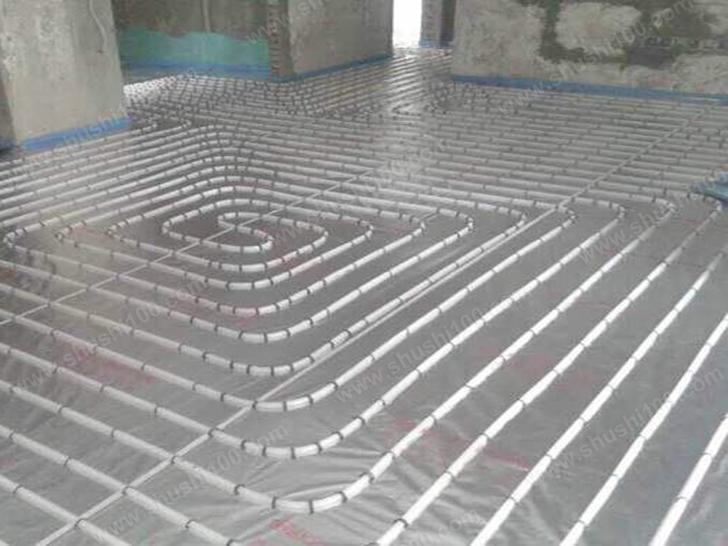 地暖盘管铺设