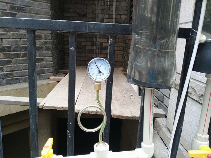 中央空调安装 打压测试