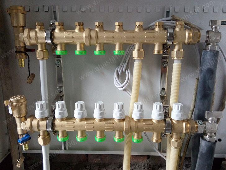 地暖盘管安装