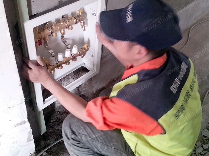 分集水器的安装