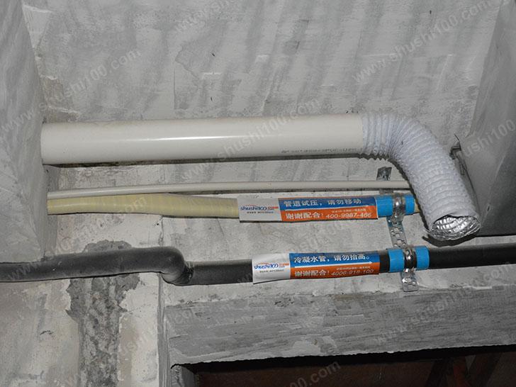 中央空调施工图 布管