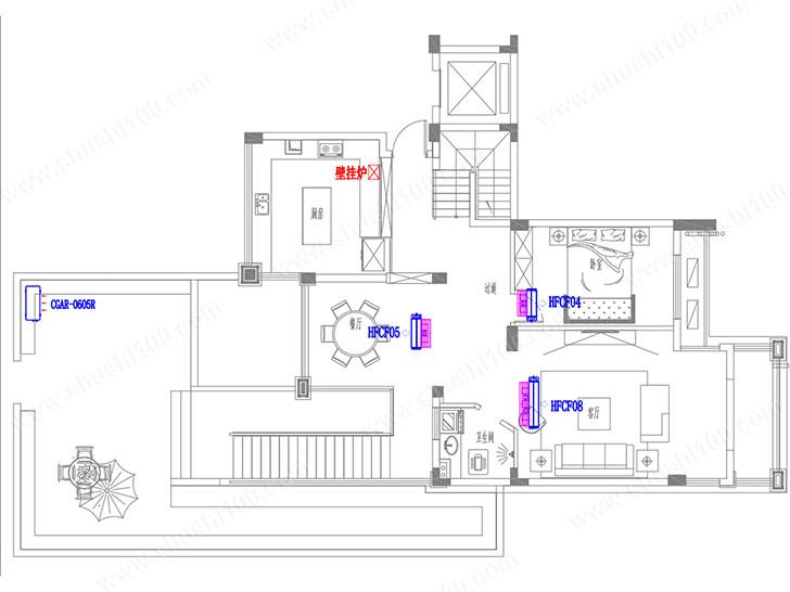 特灵中央空调设计图