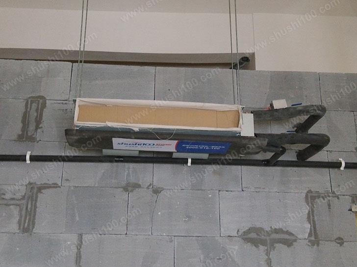 中央空调施工图 室内机安装