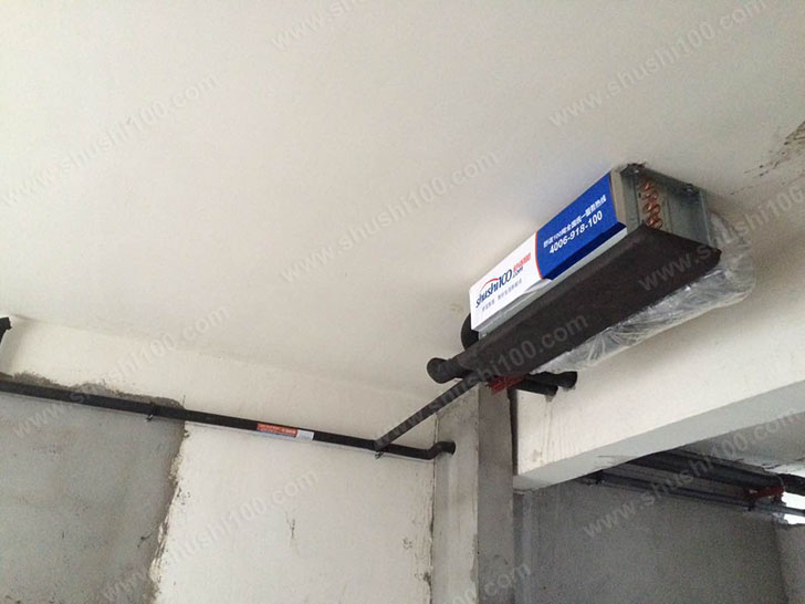 中央空调施工图 主机位置固定