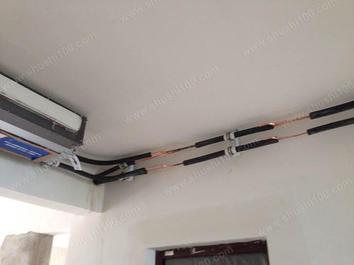 中央空调安装 管路连接