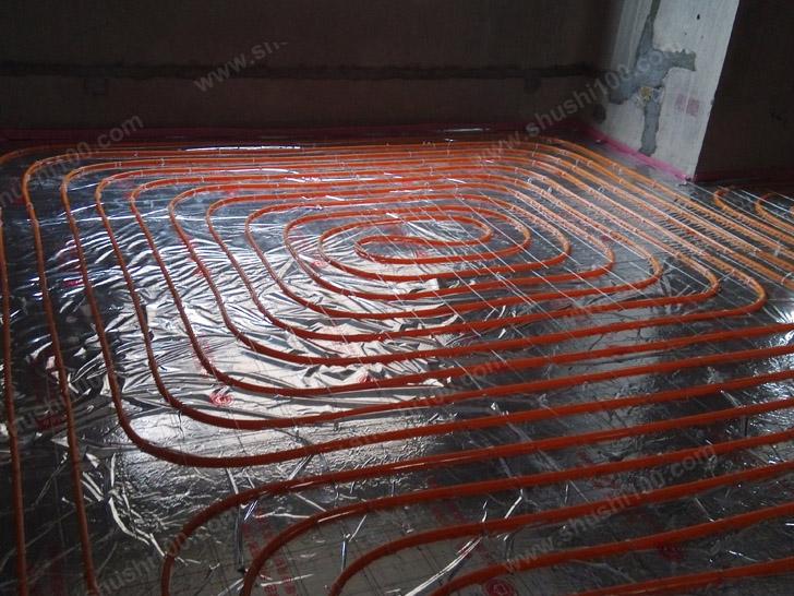 地暖安装 隐蔽工程