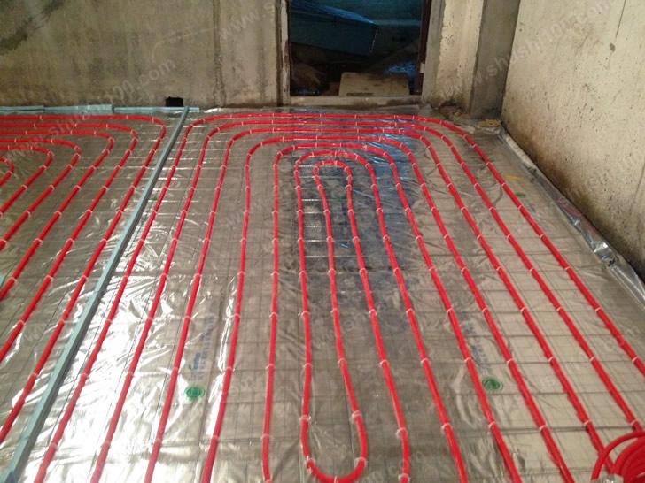 博世地暖安装工程实例—福州泰禾红裕别墅安装案例