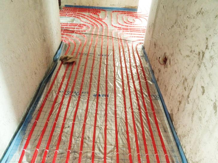 壁挂炉施工图 安装隐蔽